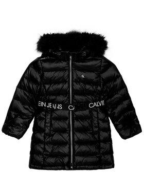 Calvin Klein Jeans Calvin Klein Jeans Pūkinė striukė Essential Down IG0IG00596 Juoda Regular Fit