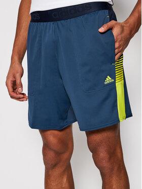 adidas adidas Pantaloncini sportivi M At Sho GM2099 Blu scuro Relaxed Fit