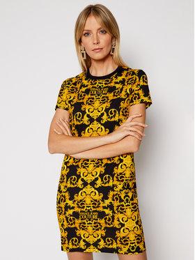 Versace Jeans Couture Versace Jeans Couture Kasdieninė suknelė D2HWA401 Juoda Slim Fit
