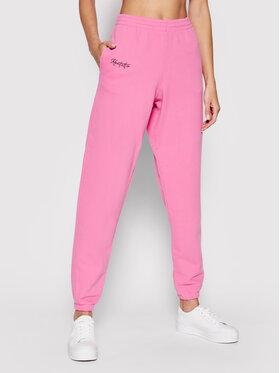 Kontatto Kontatto Spodnie dresowe SDK200 Różowy Regular Fit