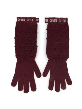 Liu Jo Liu Jo Γάντια Γυναικεία Guanti Maglia Goffra 269051 M0300 Μπορντό