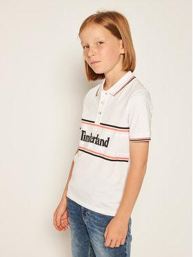 Timberland Timberland Polo marškinėliai T25Q83 S Balta Regular Fit