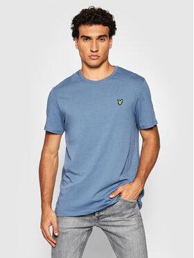 Lyle & Scott Lyle & Scott T-Shirt Plain TS400VOG Niebieski Regular Fit