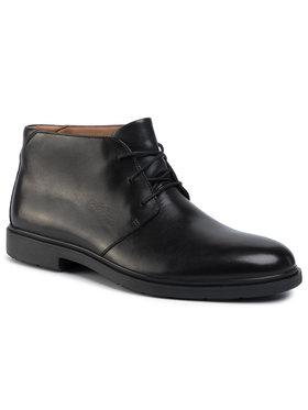 Clarks Clarks Šnurovacia obuv Un Taileor Mid 261446777 Čierna