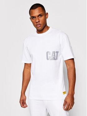 CATerpillar CATerpillar T-Shirt 2511548 Biały Regular Fit
