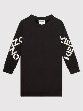 Kenzo Kids Kenzo Kids Ежедневна рокля K12055 Черен Regular Fit