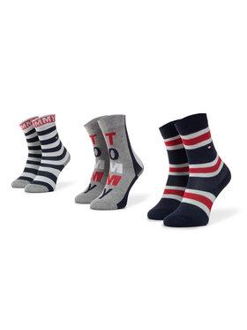 TOMMY HILFIGER TOMMY HILFIGER Σετ ψηλές κάλτσες παιδικές 3 τεμαχίων 320411001 Έγχρωμο