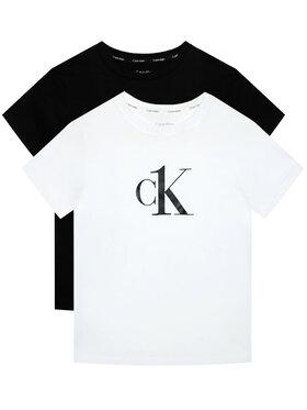Calvin Klein Underwear Calvin Klein Underwear Komplet 2 t-shirtów Ck One B70B700327 Kolorowy Regular Fit