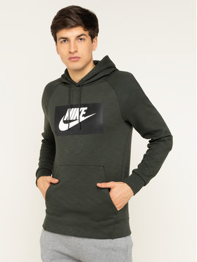 NIKE NIKE Mikina Nsw Optic BV2989 Zelená Standard Fit