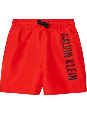 Calvin Klein Swimwear Calvin Klein Swimwear Szorty kąpielowe B70B700299 Czerwony Regular Fit
