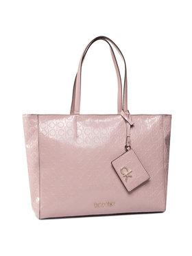 Calvin Klein Calvin Klein Kabelka Ck Must Em Shopper Md K60K606760 Růžová