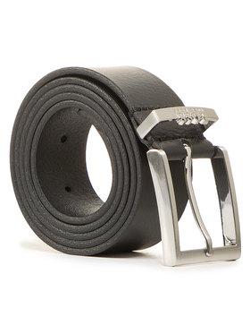 Boss Boss Мъжки колан Tino-Logo 50447191 Черен
