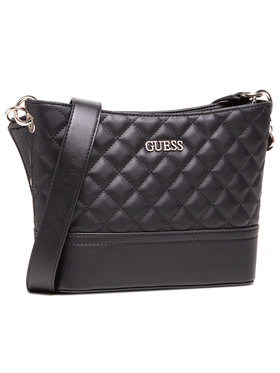 Guess Guess Τσάντα Illy (VG) HWVG79 70010 Μαύρο
