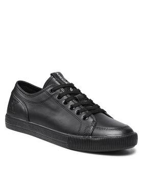 Calvin Klein Jeans Calvin Klein Jeans Sneakersy Ess Vulc Laceup Sneaker L YM0YM00277 Czarny