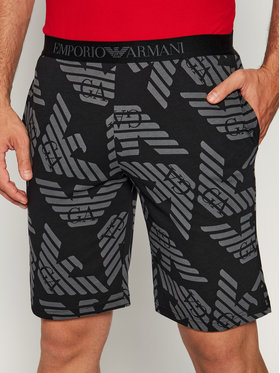 Emporio Armani Underwear Emporio Armani Underwear Pantaloni scurți pijama 111329 0P506 75920 Negru Regular Fit
