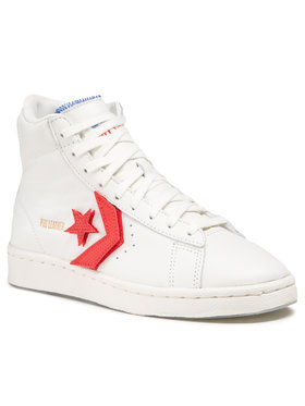 Converse Converse Sneakers Pro Leather Hi 170240C Alb