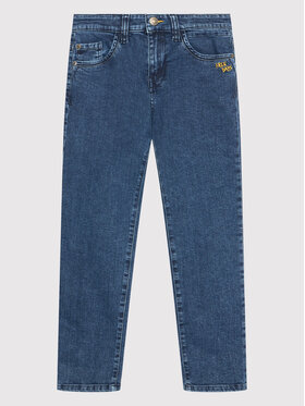 United Colors Of Benetton United Colors Of Benetton Jeansy 4DMT57PM0 Granatowy Slim Fit