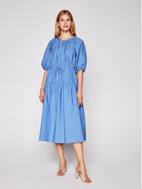 Weekend Max Mara Weekend Max Mara Kleid für den Alltag Kuban 52211111 Blau Regular Fit