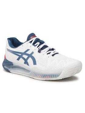 Asics Asics Pantofi Gel-Resolution 8 Clay 1041A076 Alb