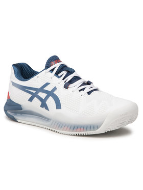 Asics Asics Παπούτσια Gel-Resolution 8 Clay 1041A076 Λευκό