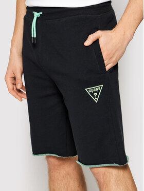 Guess Guess Pantaloncini sportivi U1GA30 FL03O Nero Regular Fit