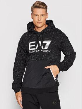 EA7 Emporio Armani EA7 Emporio Armani Суитшърт 6KPM26 PJF6Z 2206 Черен Regular Fit