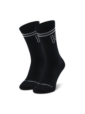KARL LAGERFELD KARL LAGERFELD Чорапи дълги мъжки 805506 Черен