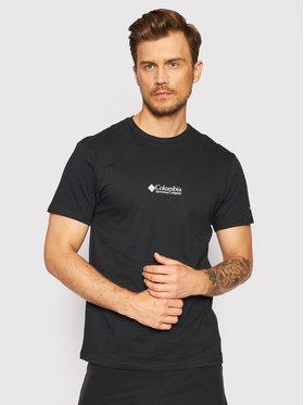 Columbia Columbia T-Shirt Csc Basic Logo™ 1680053 Czarny Regular Fit