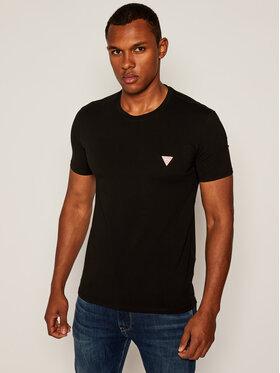 Guess Guess T-Shirt Core M0YI24 J1300 Černá Super Slim Fit