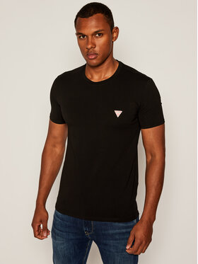 Guess Guess T-Shirt Core M0YI24 J1300 Czarny Super Slim Fit