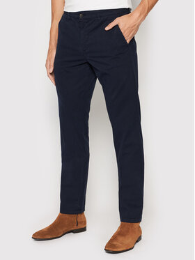 United Colors Of Benetton United Colors Of Benetton Chinosy 4DKH55I18 Granatowy Slim Fit