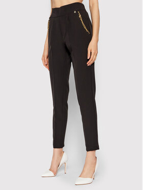 Rinascimento Rinascimento Pantalon en tissu CFC0104913003 Noir Slim Fit