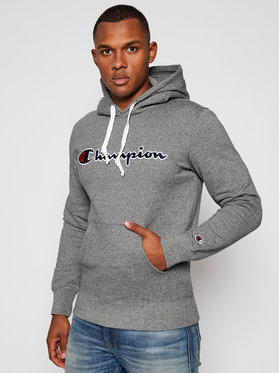 Champion Champion Bluza Hooded 214718 Szary Comfort Fit