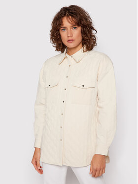 NA-KD NA-KD Átmeneti kabát Quilted 1018-007255-4070-581 Bézs Regular Fit