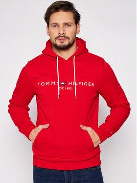 Tommy Hilfiger Tommy Hilfiger Bluza Logo MW0MW11599 Czerwony Regular Fit