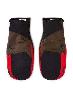 Volcom Volcom Rękawice snowboardowe Stay Dry GORE-TEX J6852105 Czerwony
