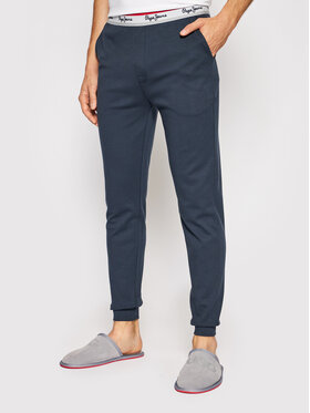 Pepe Jeans Pepe Jeans Spodnie piżamowe Tate PMU10764 Granatowy