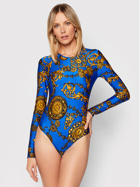 Versace Jeans Couture Versace Jeans Couture Body 71HAM221 Niebieski Regular Fit