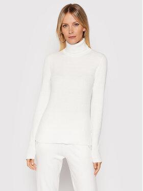 Calvin Klein Calvin Klein Golf Essential Rib K20K203399 Biały Slim Fit