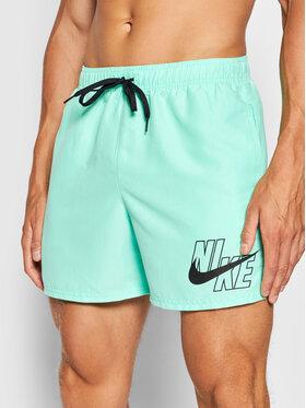 Nike Nike Short de bain Logo Lap 5 NESSA566 Vert Standard Fit