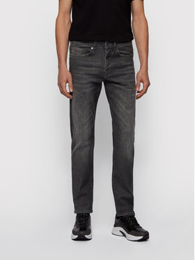 Boss Boss Jeansy Taber 50444765 Szary Tapered Fit
