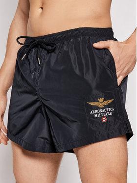 Aeronautica Militare Aeronautica Militare Plavecké šortky 211BW176CT1537 Tmavomodrá Regular Fit