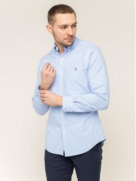 Polo Ralph Lauren Polo Ralph Lauren Košile Classics 710781974001 Modrá Slim Fit