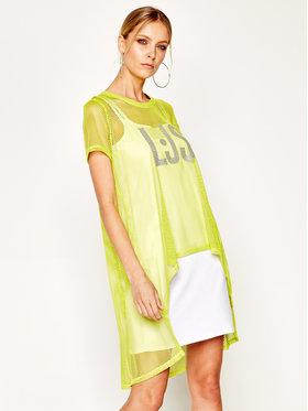 Liu Jo Sport Liu Jo Sport Kleid für den Alltag TA0175 J5003 Gelb Regular Fit