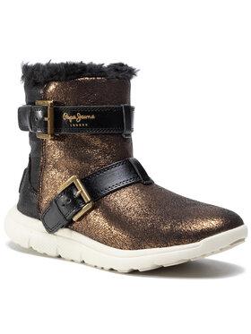 Pepe Jeans Pepe Jeans Polokozačky Hyke W Snow PLS30762 Zlatá