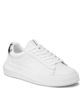 Calvin Klein Jeans Calvin Klein Jeans Sneakersy Chunky Cupsole Laceup Sneaker M YW0YW00397 Bílá