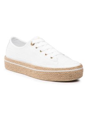 Tommy Hilfiger Tommy Hilfiger Espadrilles White Sunset Vulc Sneaker FW0FW05734 Blanc