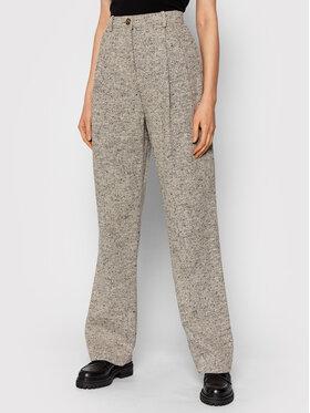 Tory Burch Tory Burch Текстилни панталони 85348 Сив Regular Fit