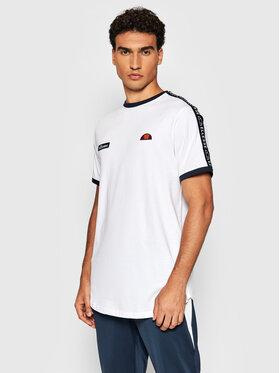 Ellesse Ellesse T-Shirt Fede SHC05907 Biały Regular Fit