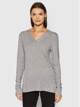 United Colors Of Benetton United Colors Of Benetton Bluză 3AOHE4276 Gri Regular Fit